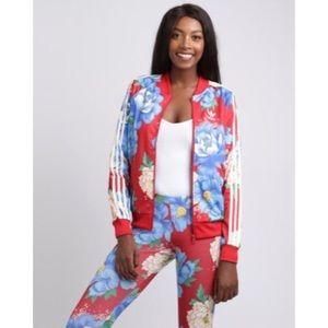 bf1e0a5b7b40a adidas Jackets   Coats - Adidas Originals floral track jacket